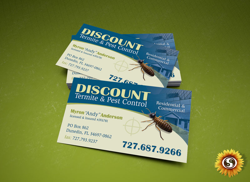 Business card designs by subtle network clearwater fl business card design reheart Choice Image