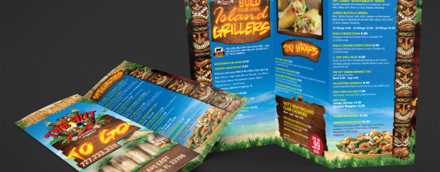The Hut Bar and Grill Brochure