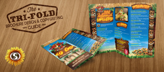 tri fold brochure design subtle network design marketing